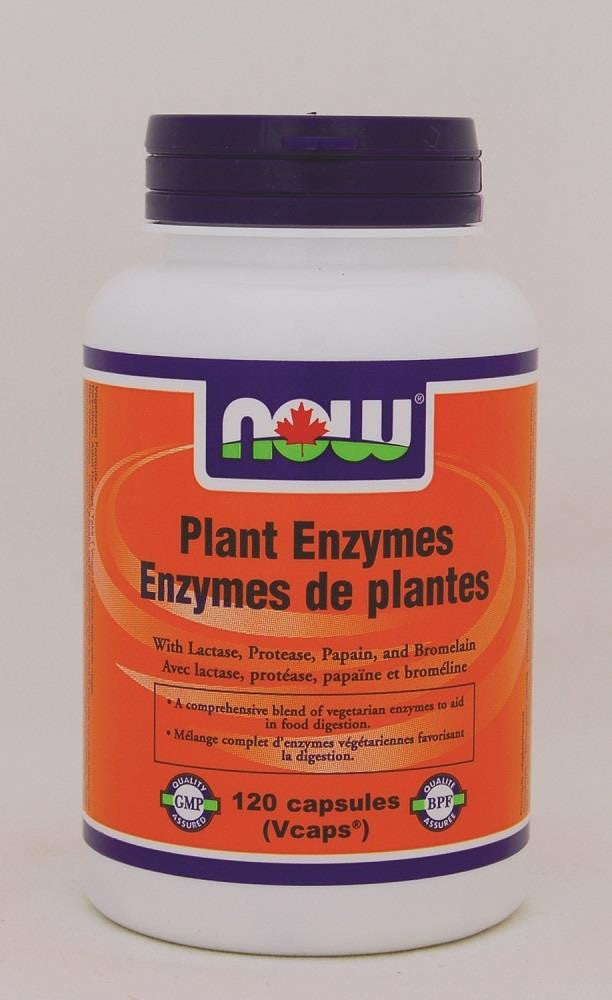 NOW Plant Enzymes 530mg 120Vcaps