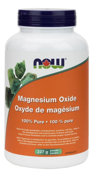 NOW Magnesium Oxide 227g Powder