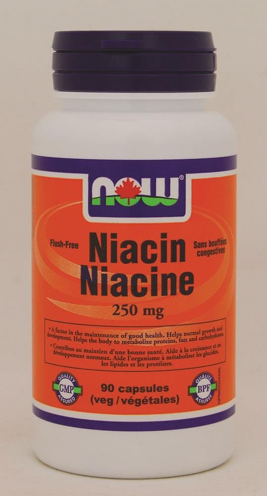 NOW Niacin 250mg 60Vcaps