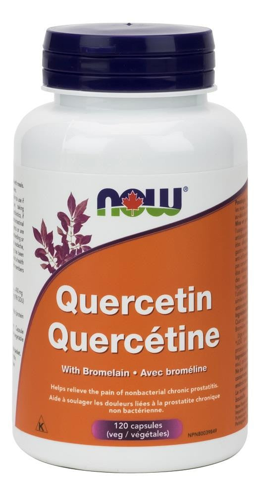 NOW Quercetin with Bromelain 120Vcaps