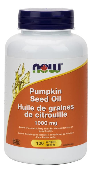 NOW Pumpkin Seed Oil 1000mg 100softgels