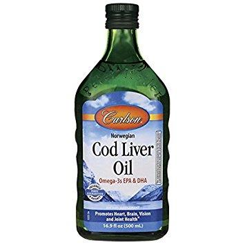 Carlson Cod Liver Oil Natural 500ml
