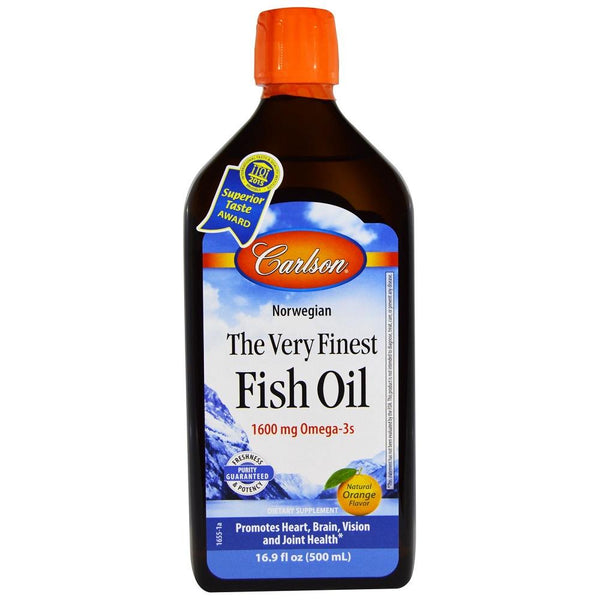 Carlson Fish Oil Orange Flavoured 500ml