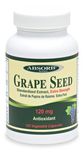 Absorb Science Grape Seed Extract 120Caps