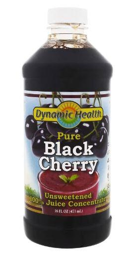 Dynamic Health Laboratories Pure Black Cherry Juice Unsweetened 473ml