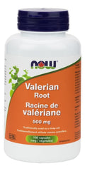 NOW Valerian Root 500mg 100caps