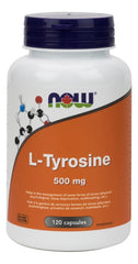 NOW L-Tyrosine 500mg 120caps