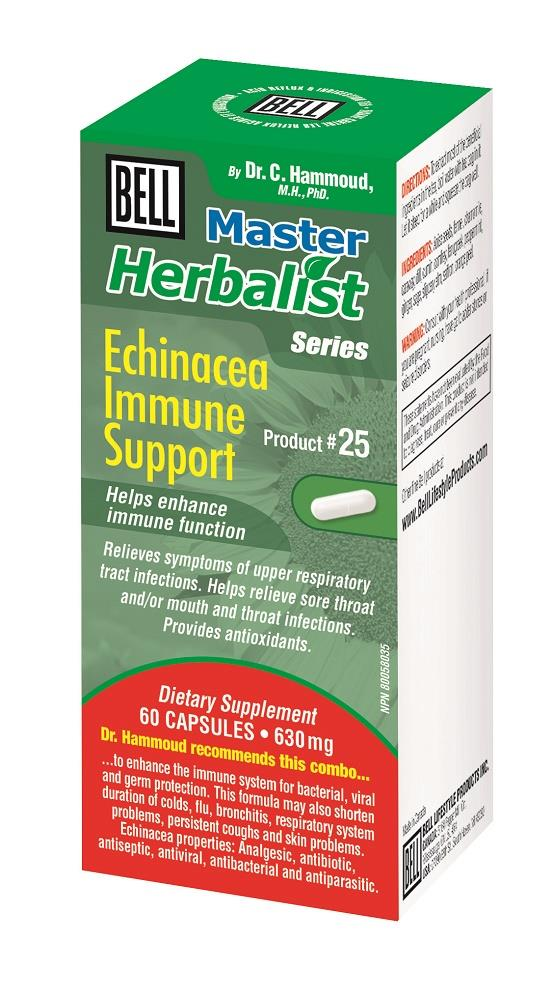 BELL Echinacea Immune Support 650mg 60caps