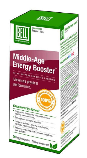 BELL Middle-Age Energy Booster 30caps