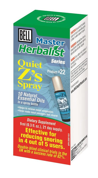 BELL Quiet Z's Spray 9ml