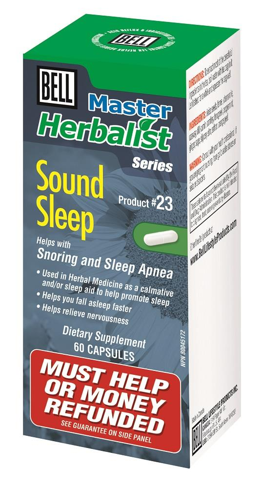 BELL Sound Sleep 750MG 60 Caps