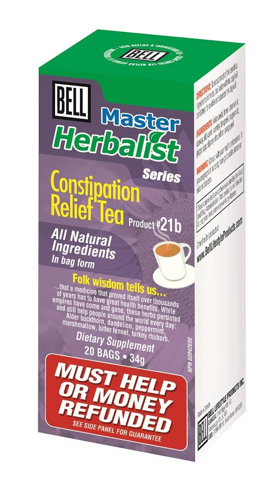 BELL Constipation Relief Tea 34g 20bags