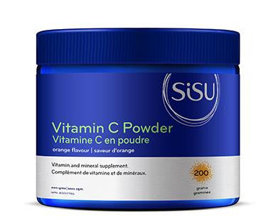 SISU Vitamin C Powder - Orange Flavour 200g