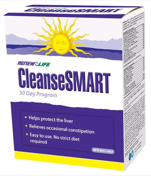RENEW LIFE CLEANSESMART 30 DAY PROGRAM