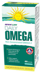 RENEW LIFE DAILY OMEGA 60 SOFTGELS