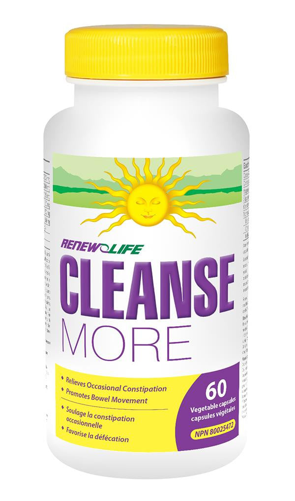 RENEW LIFE CLEANSEMORE 60VCAPS