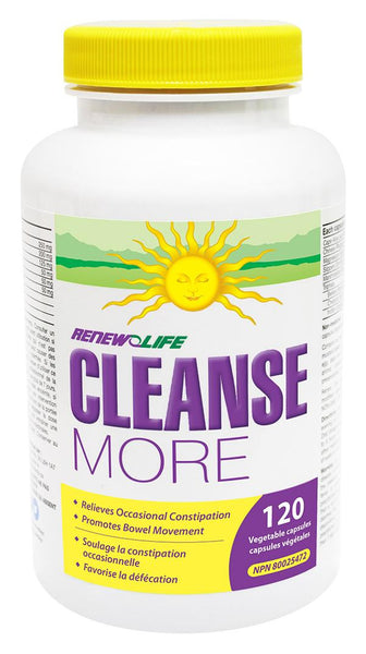 RENEW LIFE CLEANSE MORE 120 VCAPS