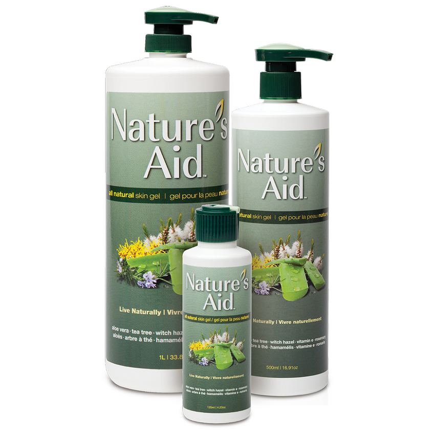 NATURE'S AID SKIN GEL 1 LITRE