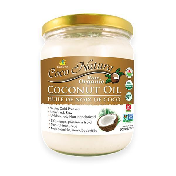 Coco Natura Raw Organic Coconut Oil 500ML