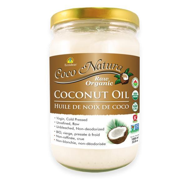Coco Natura Raw Organic Coconut Oil 1000ML