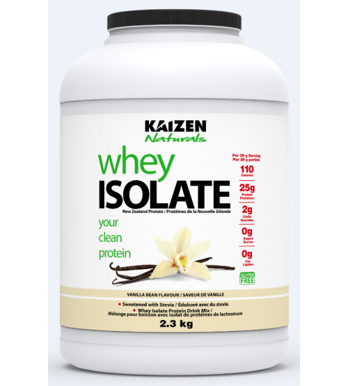 KAIZEN NATURAL WHEY NEW ZEALAND PROTEIN VANILLA 5LB