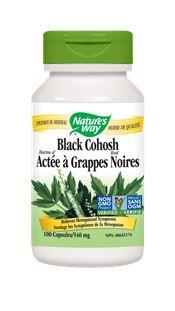 Nature's Way Black Cohosh 540mg 100Vcaps