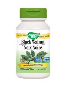 Nature's Way Black Walnut 500mg 100Vcaps