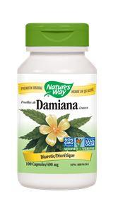 Nature's Way Damiana 400mg 100Vcaps