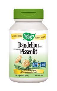 Nature's Way Dandelion Root 525mg 100Vcaps