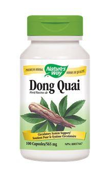Nature's Way Dong Quai 565mg 100Vcaps