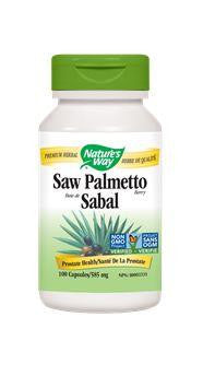 Nature's Way Saw Palmetto 585mg 100Vcaps