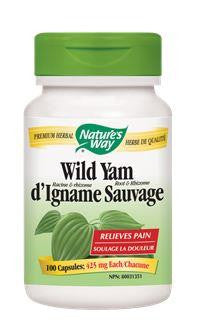 Nature's Way Wild Yam 425mg 100Vcaps