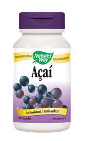 Nature's Way Acai 60caps