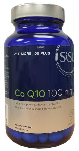 SISU COQ10 100mg 150softgels
