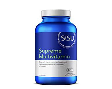 SISU Supreme Multivitamin With Iron 120Vcaps