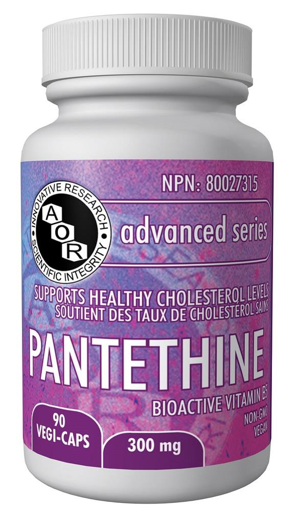 A.O.R Pantethine 300mg 90Vcaps