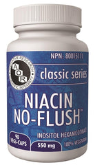 A.O.R Niacin No-Flush 550mg 90Vcaps