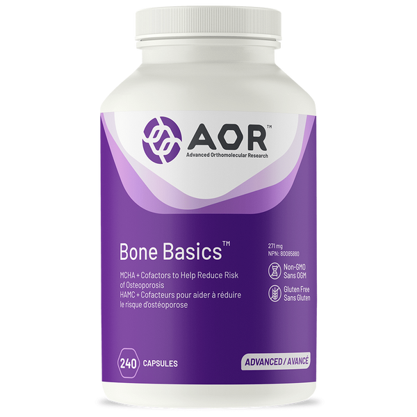 A.O.R Bone Basics 399mg 240Vcaps
