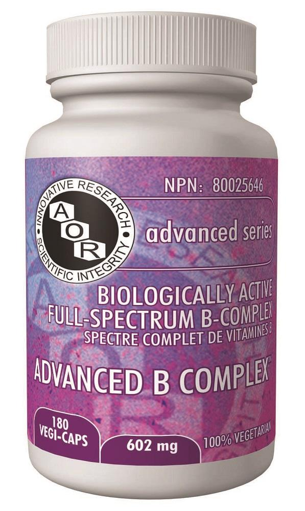 A.O.R Advanced B Complex 180Vcaps