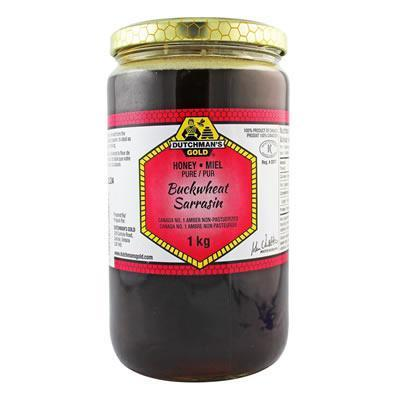 Dutchman's Buckwheat Honey 1KG