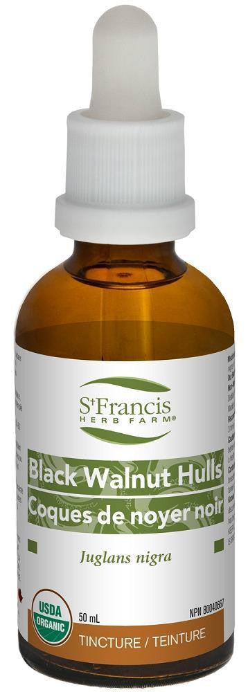 St. Francis Black Walnut Hulls 50ml tincture