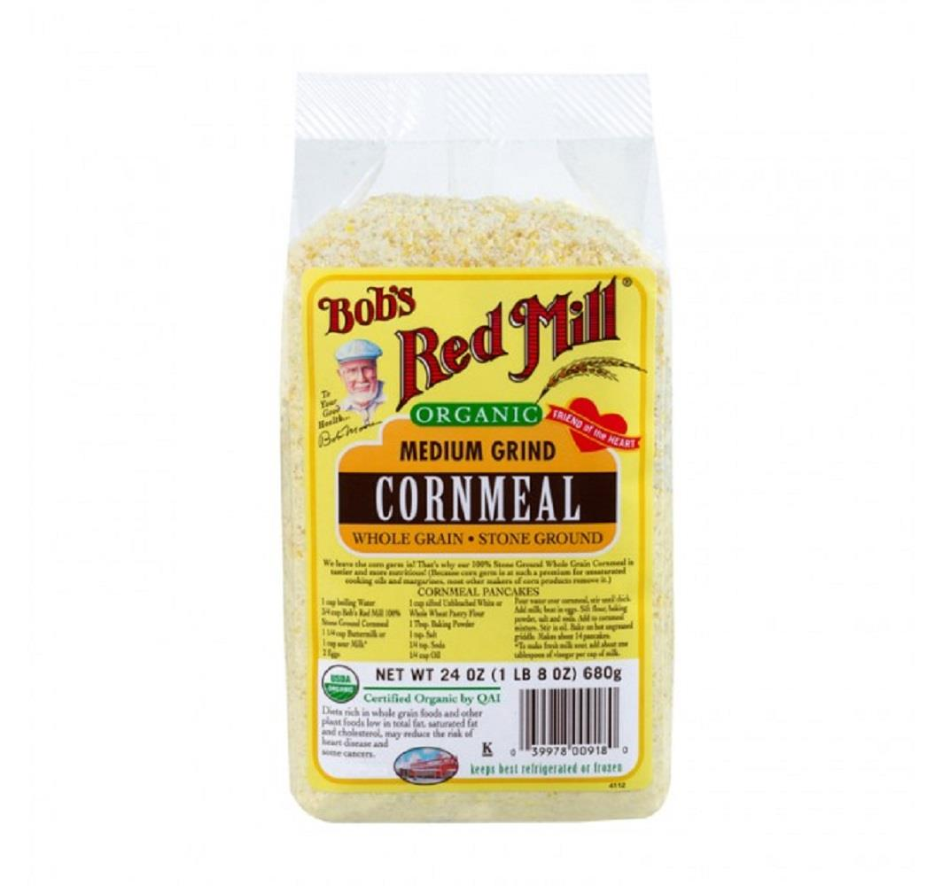 Bob's Red Mill Cornmeal Medium Ground 680G