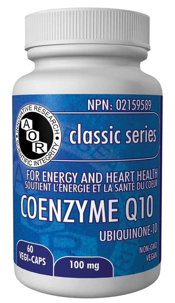 A.O.R Coenzyme Q10 100mg 60Vcaps