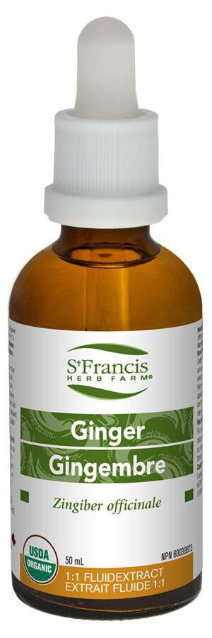 St. Francis Ginger 50ml tincture