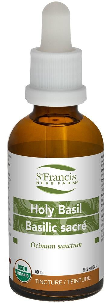 St. Francis Holy Basil 50ml tincture