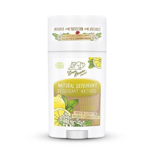 Green Beaver Natural Citrus Deodorant 50g