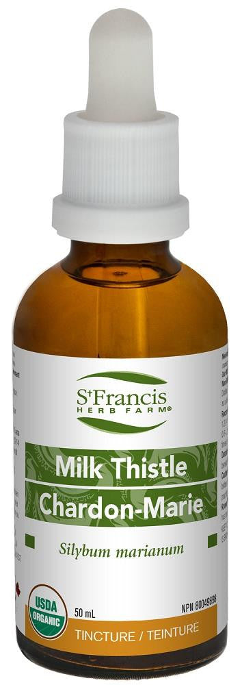 St. Francis Milk Thistle 50ml tincture