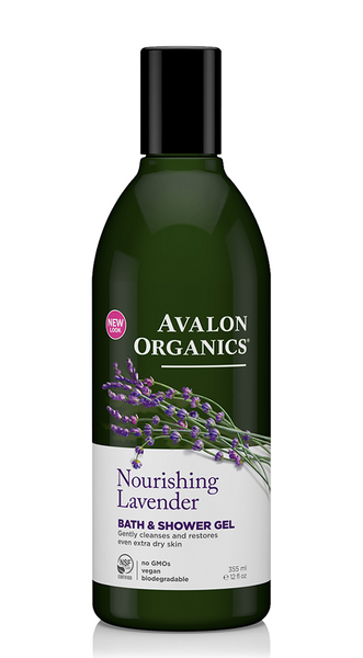 Avalon Organics Nourishing Lavender Bath & Shower 355ml