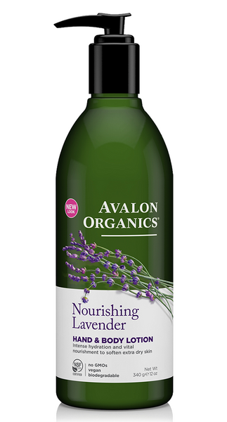 Avalon Organics Nourishing Lavender Hand & Body Lotion 907g
