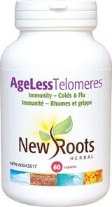 New Roots Ageless Telomeres 60caps